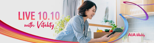 AIA continues to celebrate 90 years in Singapore with exciting return of AIA Live online health and wellness event series